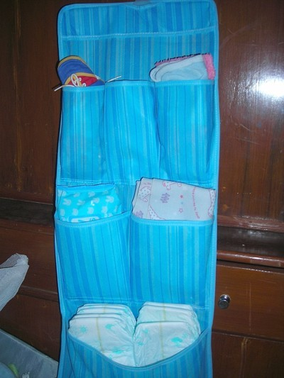 Small Shoe Organizer for Baby Essentials