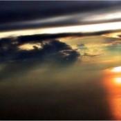 A sunset flight over Singapore