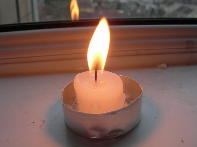how to use tea light candles