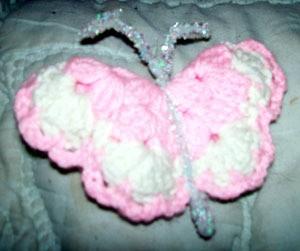 Making Crocheted Butterflies
