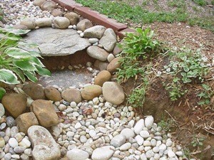 Decorative Drainage Stream