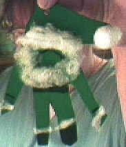 Green Santa.