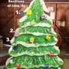Recycled Cardboard Christmas Tree