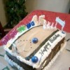 Bowling Alley Birthday Cake