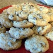 Nestle Toll House Chocolate Chip Cookies on plate