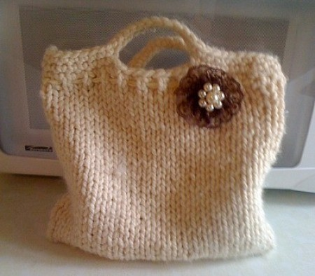pinned to purse