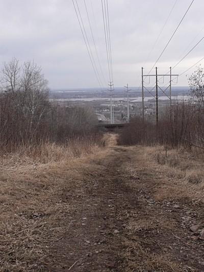 Dirt trail.