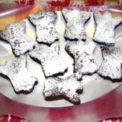 Ghost shaped brownies