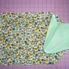 floral placemat and napkin