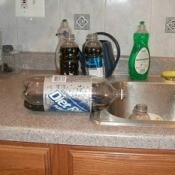Filling Smaller Soda Bottles