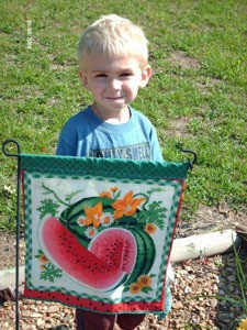 Making Garden Flags Thriftyfun