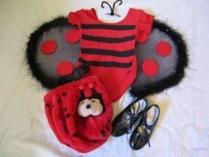 child's ladybug costume