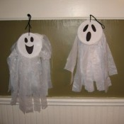Grocery Bag Ghosts