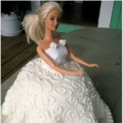 princess party cake