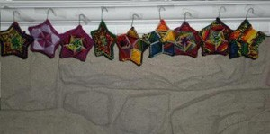 Variety of star patterns completed.