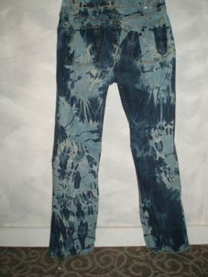 Recycled Bleached Jeans
