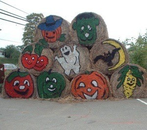 Use Hay In Your Outdoor Decorations Thriftyfun