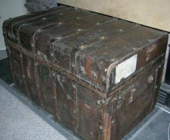 Restoring A Leather Trunk Thriftyfun