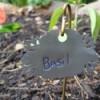finished plant label