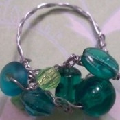 Emerald Baubles Ring