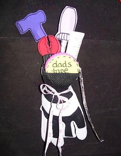 work glove tool bouquet