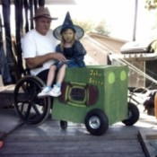 Farmer Halloween Costume (Wheelchair)