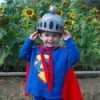 Child in Grover costume