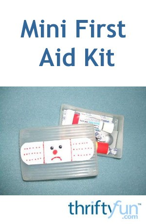 Mini First Aid Kit Thriftyfun