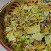 bowl of taco salad