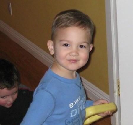 Boy With Haircut