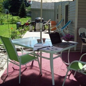 Refurbishing A Faded Patio Umbrella Thriftyfun