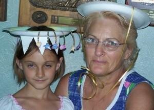 gramma & granddaughter