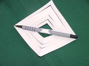 3-D Paper Ornament