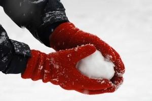 making a snow ball