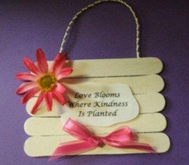 Mother's Day Hanging Plaque
