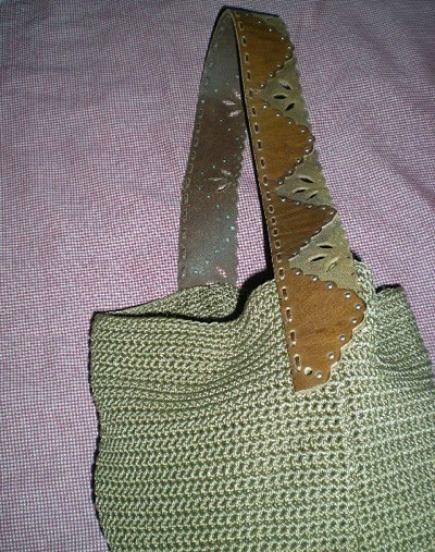belt for purse handle