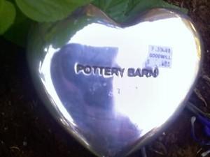 Pottery Barn spoon rest
