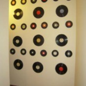 Vinyl Wall Display