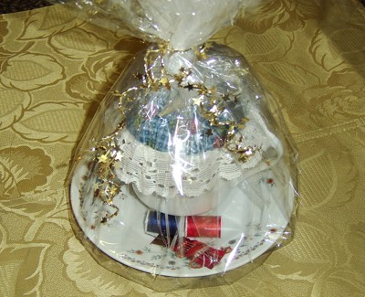 wrapped pincushion
