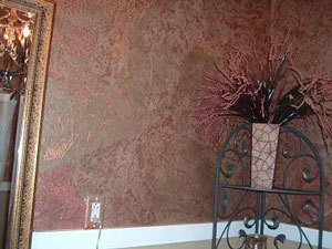 Torn Paper Bathroom Wall