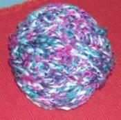 ball of crochet chain