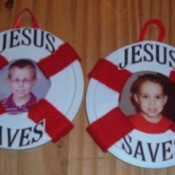 Jesus Saves Picture Frame