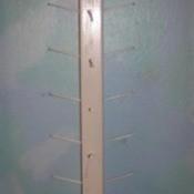 Wood thread storage tree.