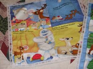 mini Rudolf quilt