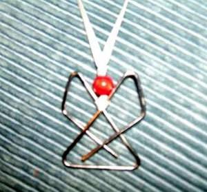 Angel Clip Necklace