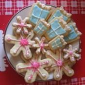 cookies on platter