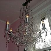 Reworked chandelier