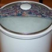 crocheted crock pot strap