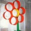 construction paper flower