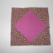 Square within a square block.